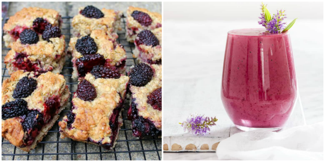 Blackberry recipes suitable for breakfast