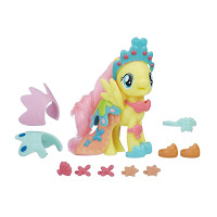 MLP The Movie Fluttershy Land & Sea Snap-on Fashion Brushables