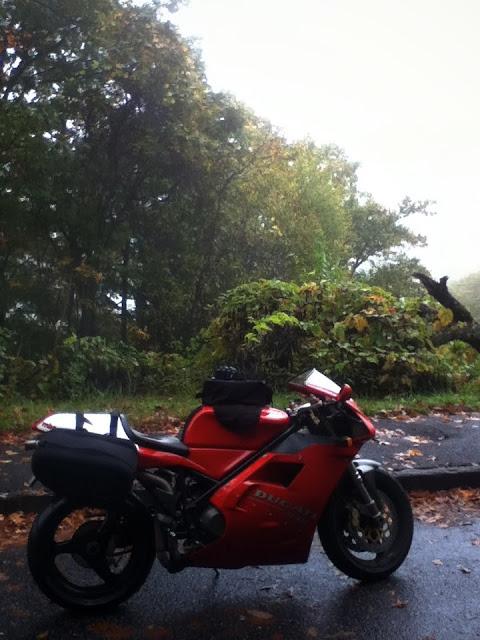 Ducati 916 Blue Ridge Parkway
