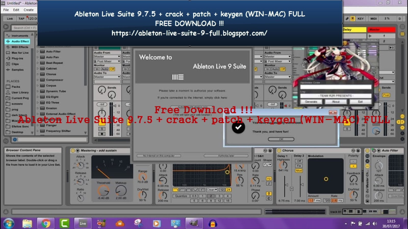 Sequencer for live or studio sessions
