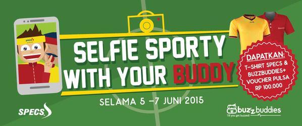Selfie Sporty with Your Buddy