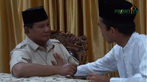 Tawhid was pronounced by Ustadz Abdul Somad for Prabowo