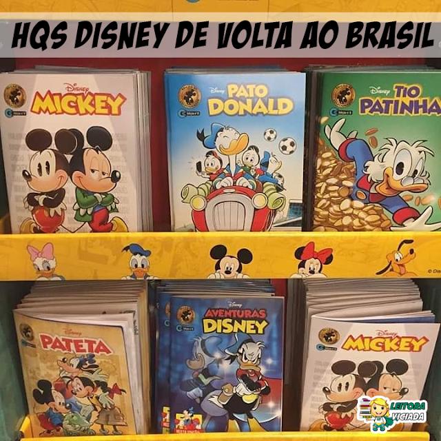 Quadrinhos Disney voltam ao Brasil pela Editora Culturama