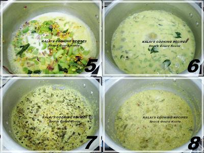 Snack Gourd Kootu with Coconut Milk | புடலங்காய் கூட்டு | Thengai Pal Pudalangai Kootu