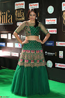 Nandita Swetha in a tight Green Choli Ghagra at IIFA Utsavam Awards March 2017 ~ 076.JPG