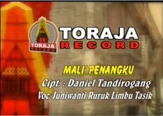 Lirik Lagu Toraja Mali' Penangku (Juniwanti Ruruk Limbu Tasik)