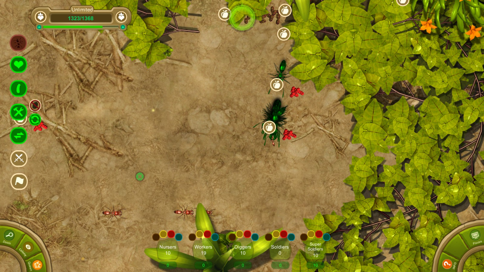 Play Ant War a free online game on Kongregate