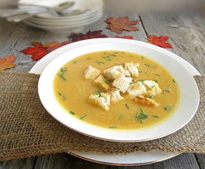 Light and Creamy Pumpkin Soup