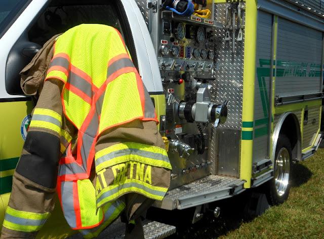 fire truck; Mount Gretna