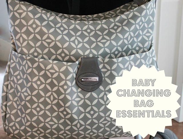 baby changing bag essentials blog post grey and white patterned nina storsak bag in antalya grey