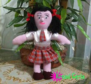 Boneka Cantik dari Kaos Kaki