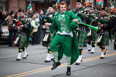 St Patrick's Day Parade 2018 in New York