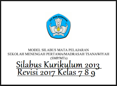 Silabus Bahasa Indonesia, Matematika, IPA, IPS, Bahasa Inggris, PPKN, PAI dan Budi Pekerti, PJOK, Seni Budaya, dan Prakarya
