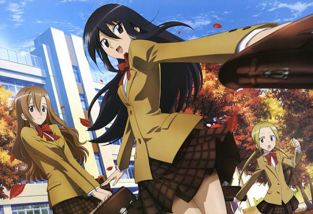 Seitokai Yakuindomo tendrá dos nuevas OVAS incluidas en sus dos siguientes tomos recopilatorios