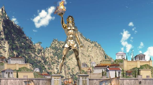 Colossus dari Rhodes Sebagai Salah Satu Keajaiban Dunia Kuno