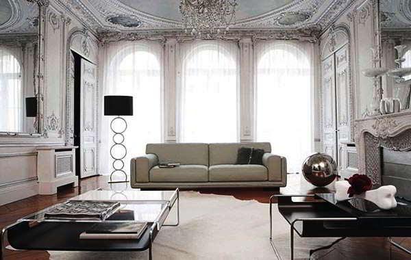 Model Sofa Ruang Tamu Rumah Klasik