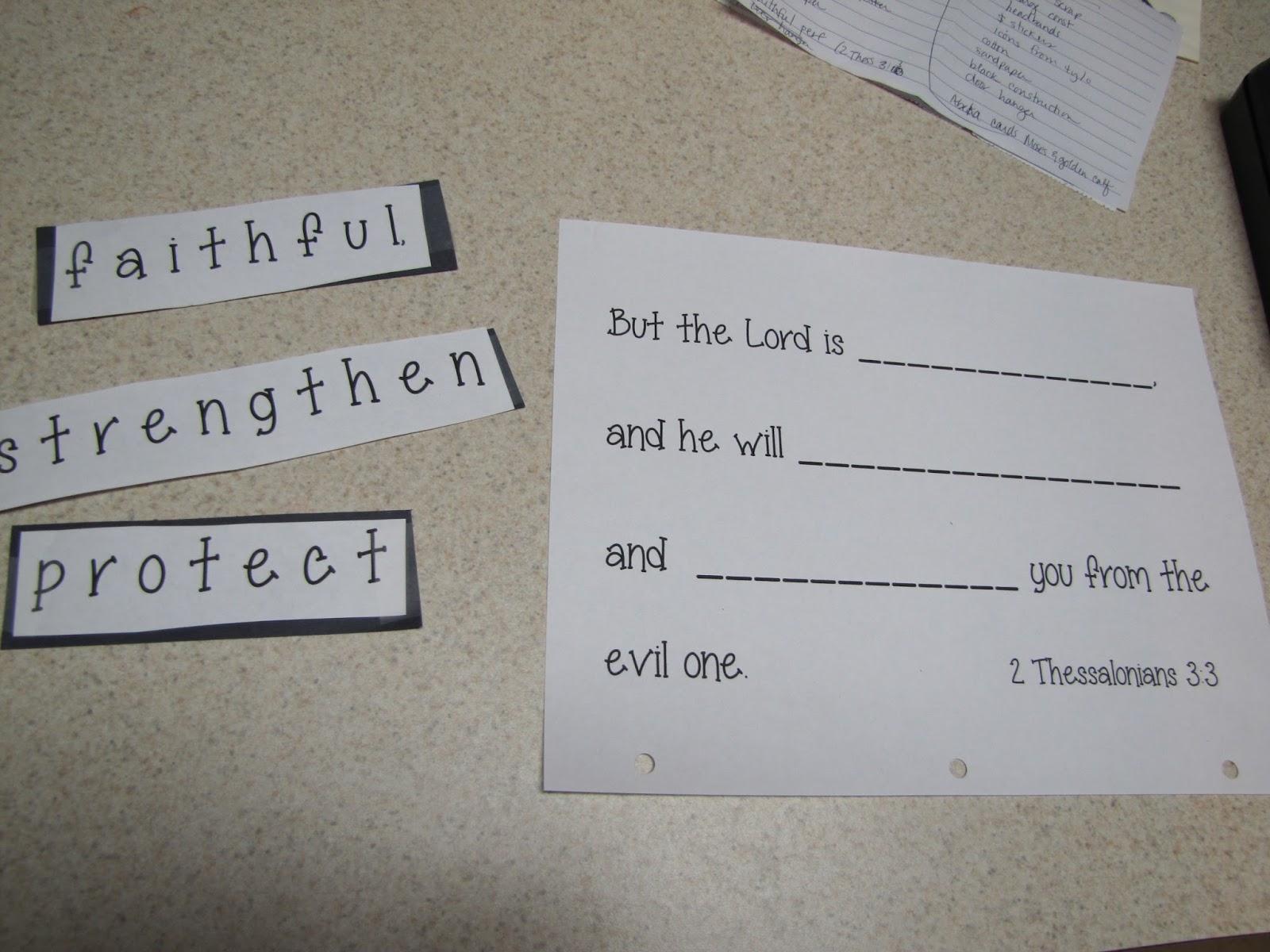 Teaching Kids The Bible Second Grade