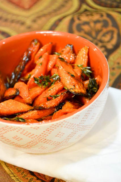 Featured Recipe | Honey Roasted Carrots from I Am A Honeybee #sidedish #recipe #SecretRecipeClub
