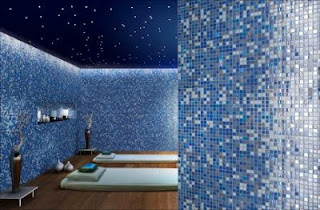 Mosaic glass tile from Italian manufacturer Mosaico+