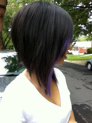 Excellent Black Amp Purple Hairstyles A Gorgeous Combination Hairstyles For Women Draintrainus