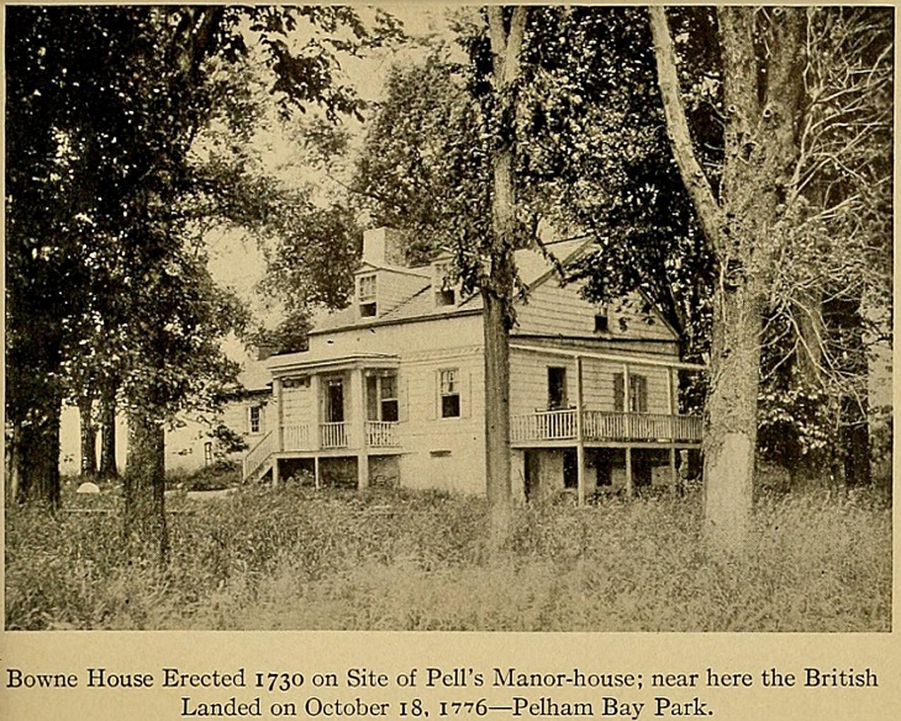 Historic Pelham graph and Biography of Gilbert Washington Bowne a 19th