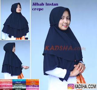 jilbab crep
