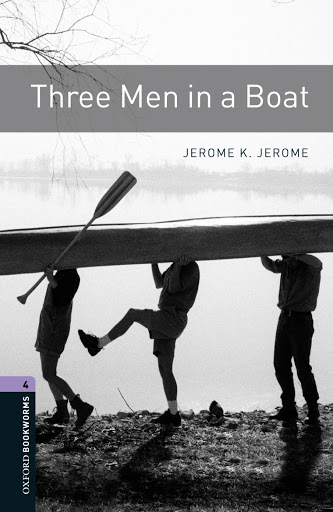 Book cover for Jerome K Jerome's Three Men in a Boat in the South Manchester, Chorlton, and Didsbury book group