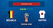 Bélgica voltea y gana en el último minuto 3 a 2 a un digno Japón
