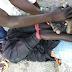 Photos: CJTF captures supected Boko Haram terrorist in Bama, Borno State