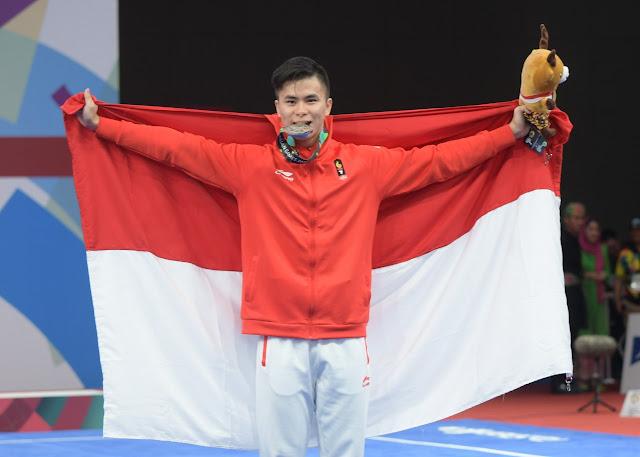 Marvelo Edgar, si Peraih Perak Asian Games Yang Jenius