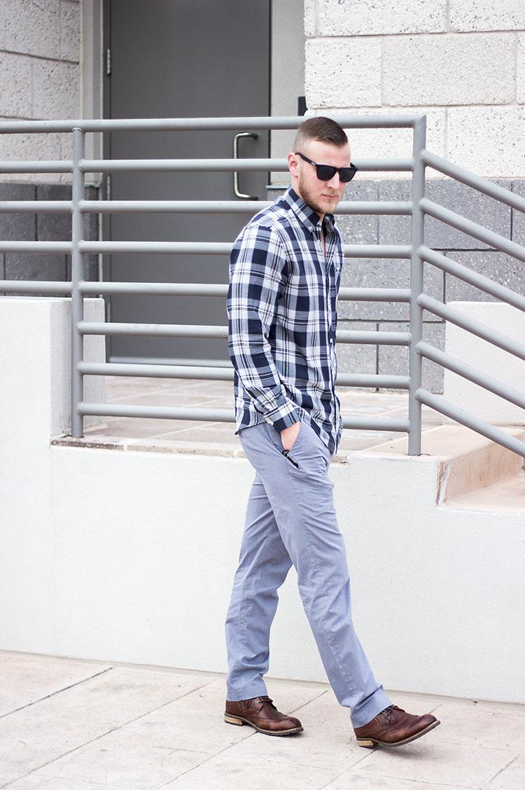 Dressing Down Slacks His Style Shann M Holt