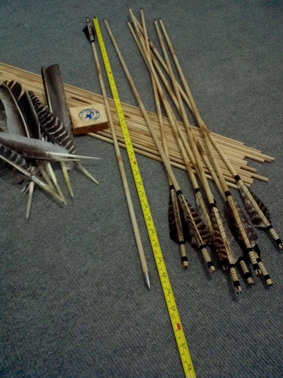 Cara Membuat Anak Panah Tradisional : membuat, panah, tradisional, Panah, Bambu, Dengan, Kalkun, Tutorial, Memanah