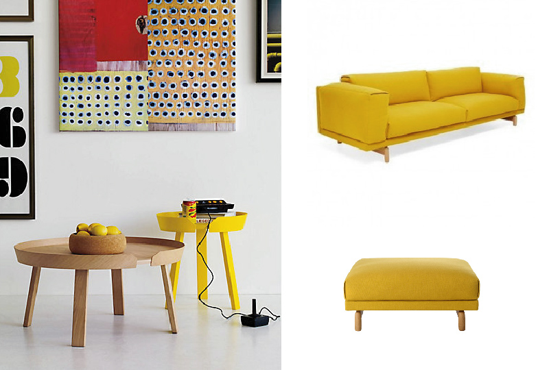 arredi, complementi e accessori casa in giallo