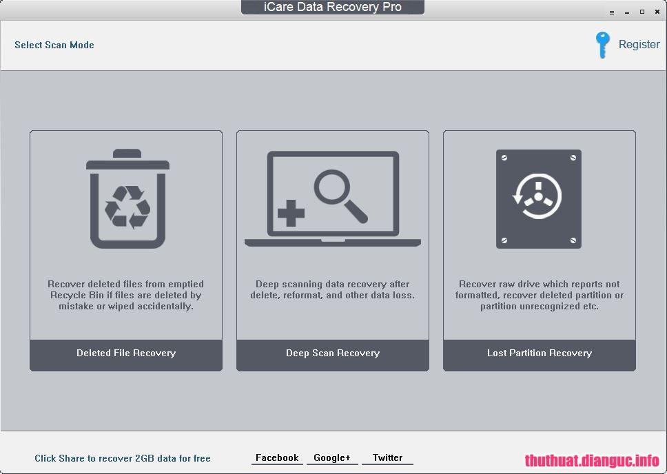 Download iCare Data Recovery Pro 8.1.9.8 Full Cr@ck – Phần mềm cứu dữ liệu chuyên nghiệp
