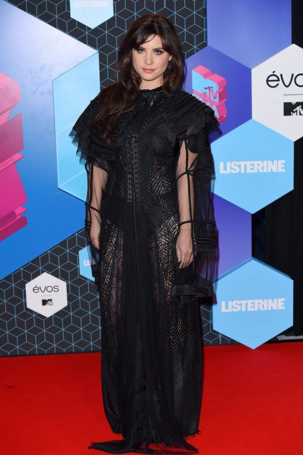 Betty Autier attends the MTV Europe Music Awards