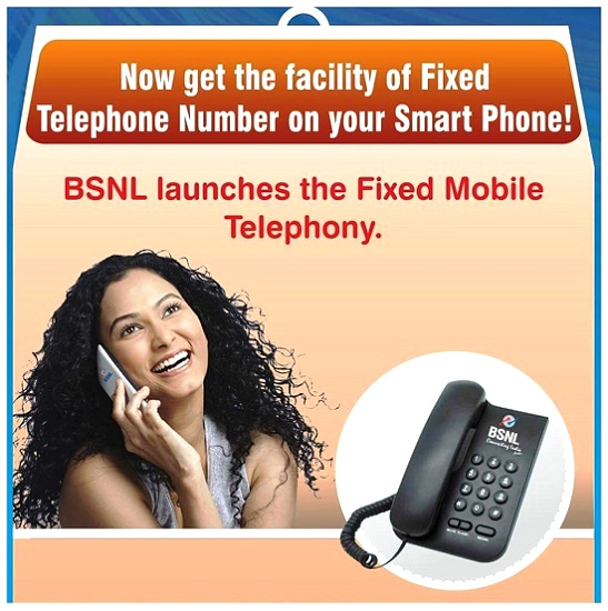 BSNL launches App based VoIP Calling 'Fixed Mobile Telephony (FMT) service' and Ditto TV for its customers on PAN India basis