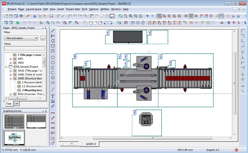 Eplan fluid v2 6 3 essential engineering software specialist for What is eplan software
