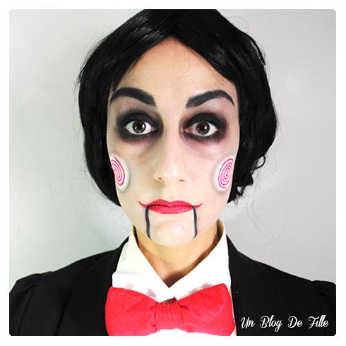 http://unblogdefille.blogspot.com/2016/10/maquillage-halloween-jigsaw-mmuf-poupee.html