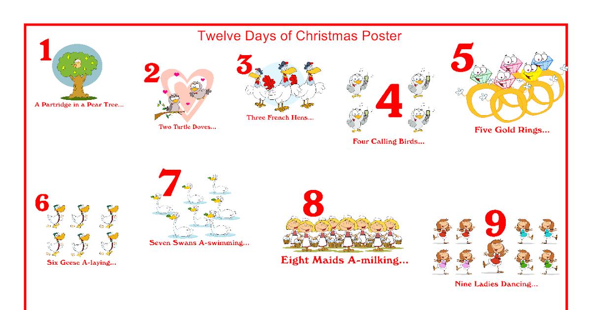 Kid Konnection: Twelve Days Of Christmas