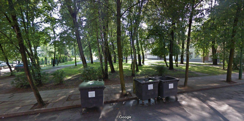 Обновится сквер между улицами  Bokštų и Puodžių