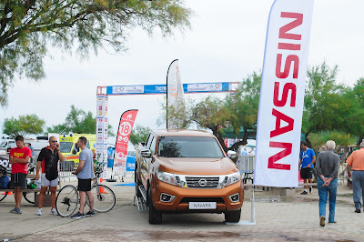 """Δυναμική συμμετοχή της  Nissan στο """"Θερμαϊκός Τρίαθλο 2016"""""""