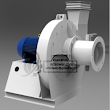 Industrial fans and blowers are machines whose primary function is to provide