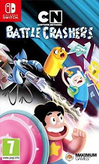 61hu m10mel  sy445  - Cartoon Network: Battle Crashers Switch XCI NSP