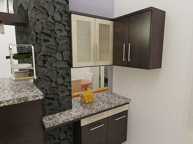Mutiara Furniture Classic Minimalis Design Kitchen Set