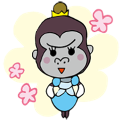 Risultati immagini per princess gorilla