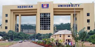 Hezekiah University Recruitment