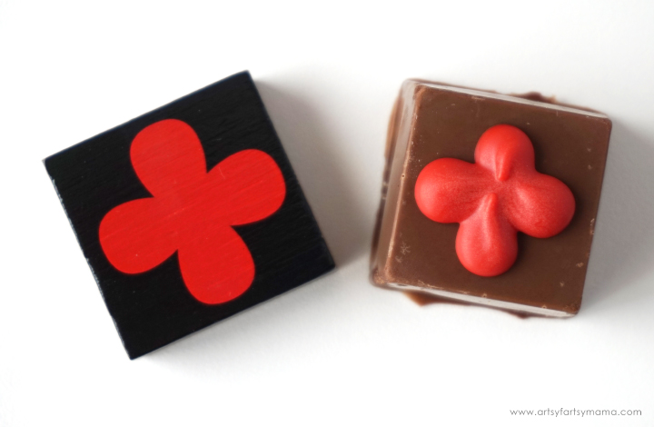 Make some Qwirkle Chocolates to eat while you play Qwirkle at your next Family Game Night!