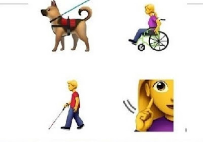 Apple propose new emojis to represent people with disabilities