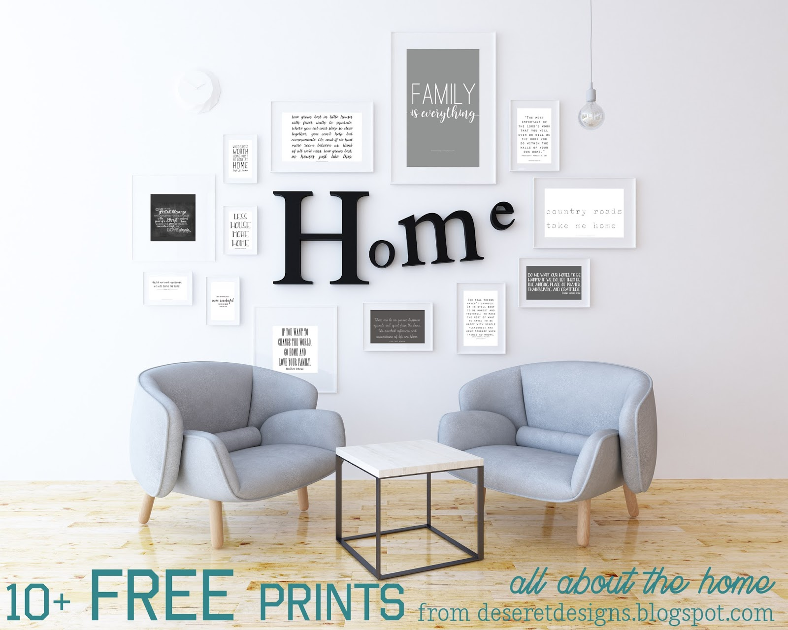 Deseret Designs 10 Free Quotes On The Home That Are Great For Printing