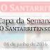 Capa de 'O Santarritense' - 04 de junho de 2016